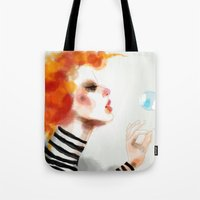 pin up Tote Bags featuring Pin by Dnzsea
