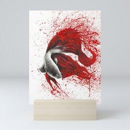 Fire Dance Fish Mini Art Print
