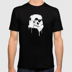 Stencil Trooper - Star Wars Mens Fitted Tee X-LARGE Black