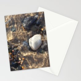 Lovely Pebbles at the Beach Stationery Cards