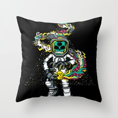 Space Madness! Throw Pillow