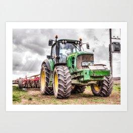 Tractor 2 Art Print