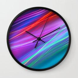 Saturn Spring Wall Clock
