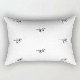 Triceratops pattern. Rectangular Pillow
