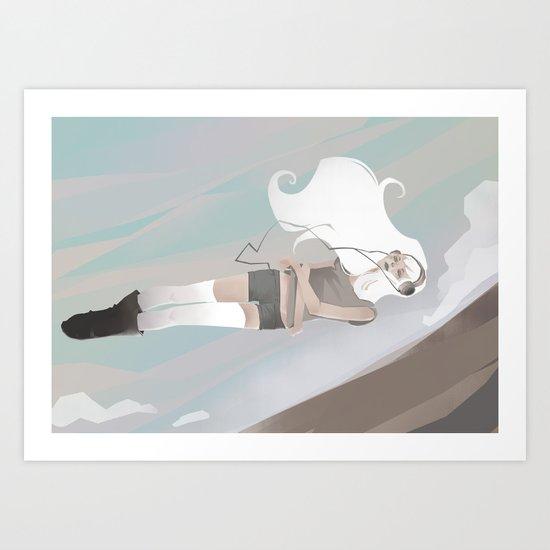 Halfway Art Print