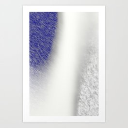 """""""Between Navy and White"""" Art Print"""