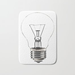 I Have an Idea!  Let there be light... Bath Mat