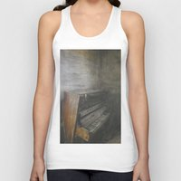 piano Tank Tops featuring Piano by Claudia Ma