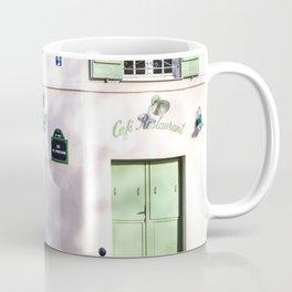 La Maison Rose Montmartre Paris Coffee Mug