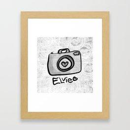 Camera Elvie Framed Art Print
