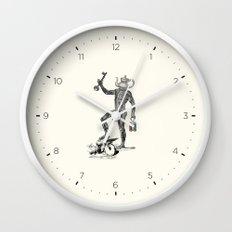The key to good tea Wall Clock