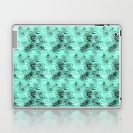 Patched Teal Waters Laptop & iPad Skin