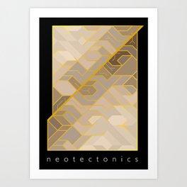 Neotectonics Art Print