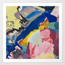 Color Milkshake Art Print