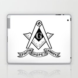 Freemasonry symbol Laptop & iPad Skin