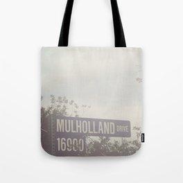 Mulholland Drive Tote Bag
