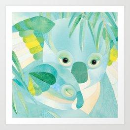 Shanti Sparrow: Maggie and Milo the Koalas Art Print