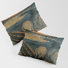 The Scream by Edvard Munch, circa 1893 Pillow Sham