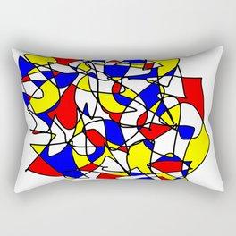 Mondrian Sneeze Rectangular Pillow
