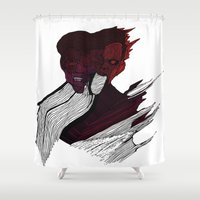 roman Shower Curtains featuring roman godfrey by mayra