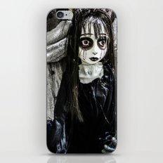 Goth Girl iPhone & iPod Skin