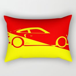 Fast Car Abstract Rectangular Pillow
