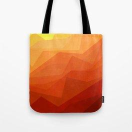 Stratum 3 Orange Tote Bag