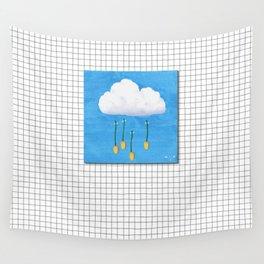 Spring Rain_ver2 Wall Tapestry