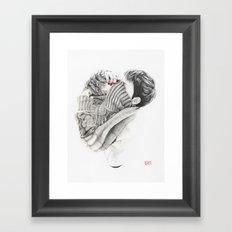 Pullover Attack Framed Art Print