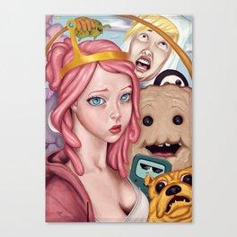 Selfie Time Canvas Print