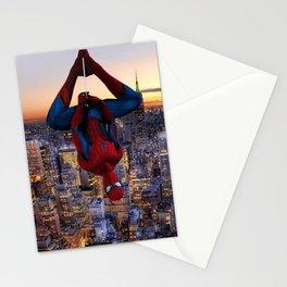 Spider Fight, Man, Hand & Bath Stationery Cards