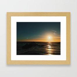 SF Sun Framed Art Print