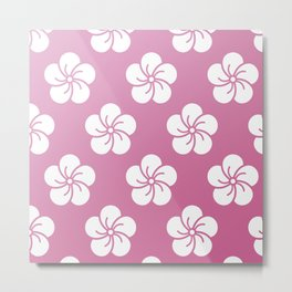 Sakura pillow Metal Print
