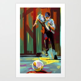 The Showdown Art Print