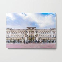 Buckingham Palace, London, England Metal Print