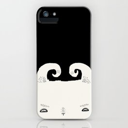 goat very angry iPhone Case