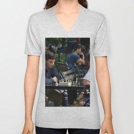 Checkmate Unisex V-Neck