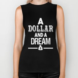 DOLLAR AND A DREAM THE GAME J COLE DR DRE COMPTON TDE HIP HOP RAP DRAKE Biker Tank