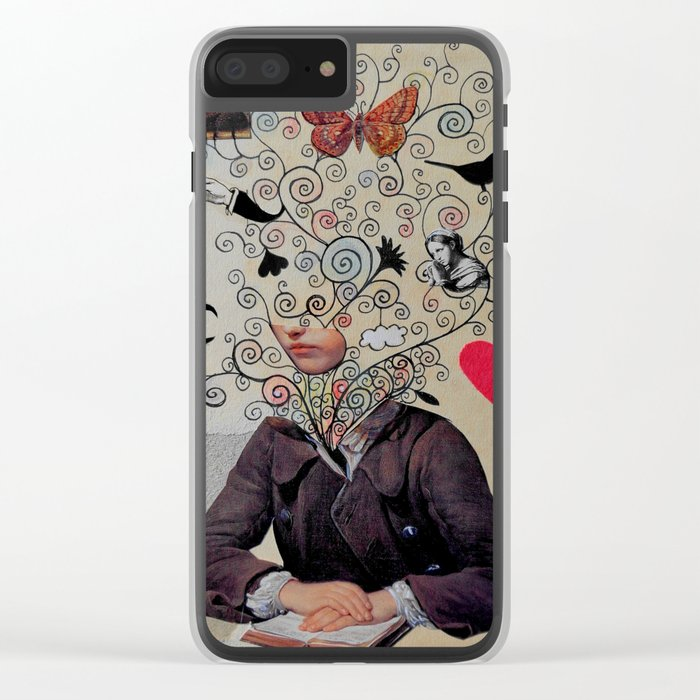 little romantic Clear iPhone Case