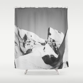 Ice, Ice, Iceland - Landscape and Nature Photography Shower Curtain