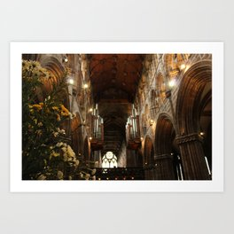 Glasgow Cathedral IV Art Print