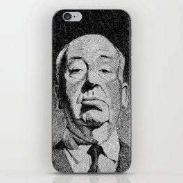 Fingerprint - Hitchcock iPhone Skin