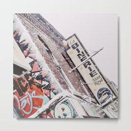 Montreal - Binerie Metal Print