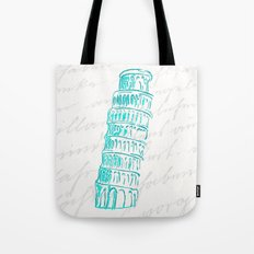Pisa Tower Tote Bag