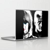 blade runner Laptop & iPad Skins featuring Blade Runner Nexus 6 by PsychoBudgie