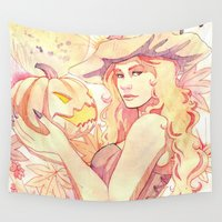 witchcraft Wall Tapestries featuring Witchcraft by Souzou Inc