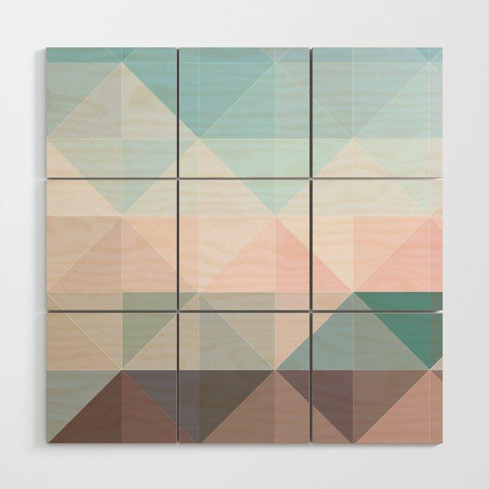 Apex Geometric Wood Wall Art By Galeswitzer
