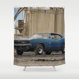 1968 Hemi Charger RT Shower Curtain