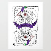 Mister J Art Print