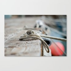 Made Fast Canvas Print